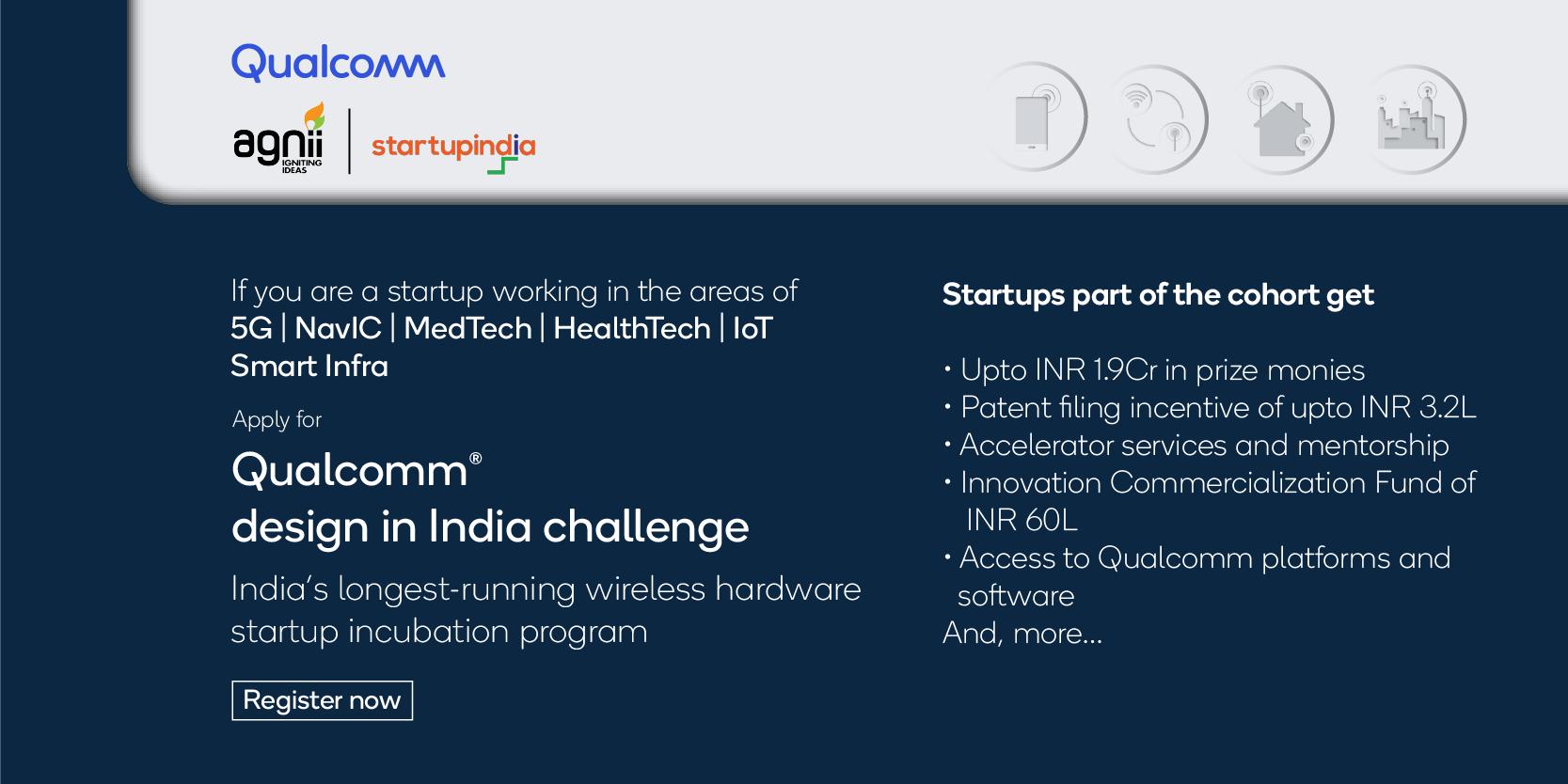 Qualcomm Design in India Challenge 2021